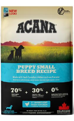 Acana Heritage Puppy Small Breed Recipe