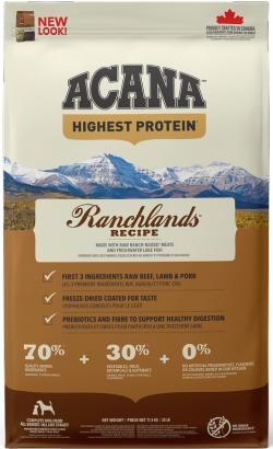 Acana Regionals Dog Ranchlands