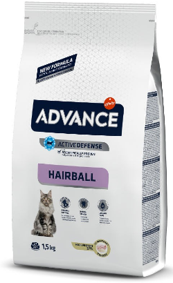 Advance Cat Hairball | Turkey & Rice