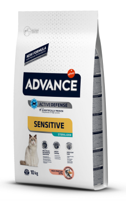 Advance Cat Sterilised Sensitive | Salmon & Barley