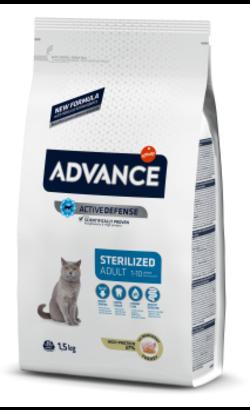 Advance Cat Sterilised | Turkey & Barley