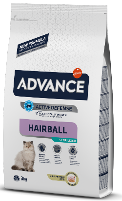 Advance Cat Sterilized Hairball | Turkey & Barley