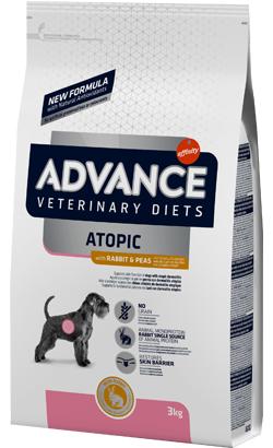 Advance Vet Dog Medium-Maxi Atopic with Rabbit & Peas