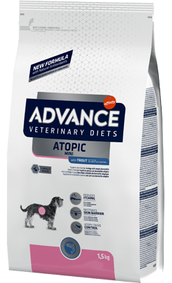 Advance Vet Dog Mini Atopic with Trout
