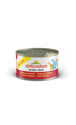 Almo Nature Dog Classic Beef and Ham | Wet (Lata)