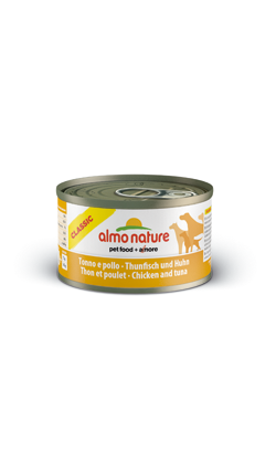 Almo Nature Dog Classic Tuna and Chicken | Wet (Lata)
