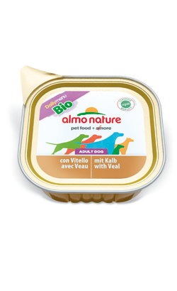 Almo Nature Dog DailyMenu Bio with Veal | Wet (Terrina)