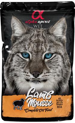 Alpha Spirit Cat Mousse Cordeiro| Wet (Saqueta)