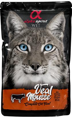 Alpha Spirit Cat Mousse Vitela| Wet (Saqueta)