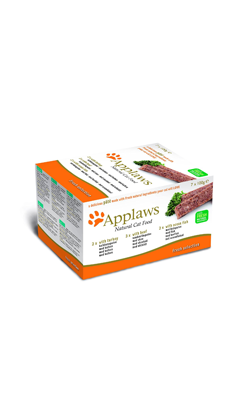 Applaws Cat Multipack Pate Chicken, Lamb & Salmon | Wet (Terrina)