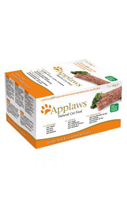 Applaws Cat Multipack Pate Turkey, Beef & Ocean Fish | Wet (Terrina)