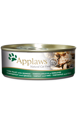 Applaws Cat Tuna Fillet & Seaweed | Wet (Lata)