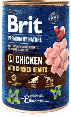 Brit Blue Nature Dog Chicken with Hearts | Wet (Lata)