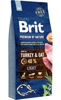 Brit Blue Nature Light Turkey & Oat