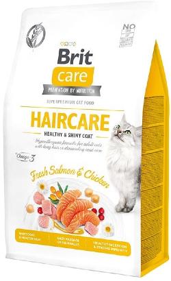 Brit Care Cat Grain Free Haircare Heathy & Skin Coat | Salmon & Chicken