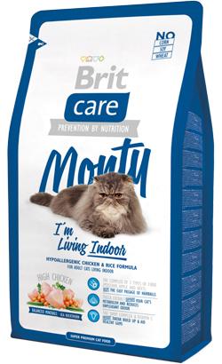 Brit Care Cat Monty Indoor | High Chicken