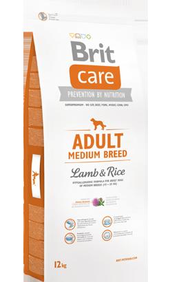 Brit Care Dog Adult Medium Breed | Lamb & Rice