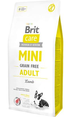 Brit Care Dog Mini Adult Grain-free | Lamb