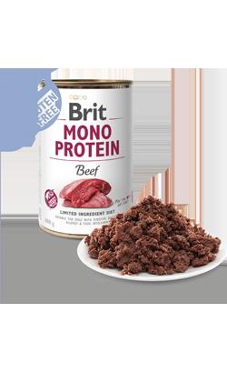 Brit Care Dog Mono Protein Beef   Wet (Lata)