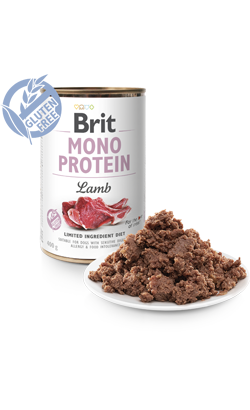 Brit Care Dog Mono Protein Lamb | Wet (Lata)