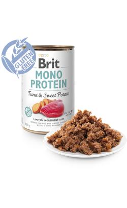 Brit Care Dog Mono Protein Tuna & Sweet Potato | Wet (Lata)