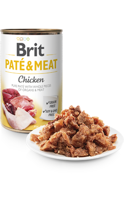 Brit Care Dog Paté & Meat Chicken | Wet (Lata)