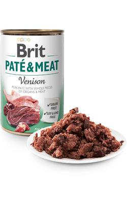 Brit Care Dog Paté & Meat Venison | Wet (Lata)