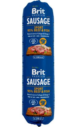 Brit Sausage Dog Sport Formula Beef & Fish