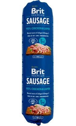 Brit Sausage Dog Chicken & Lamb