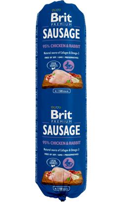 Brit Sausage Dog Chicken & Rabbit