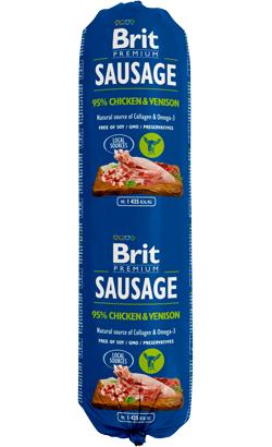 Brit Sausage Dog Chicken & Venison