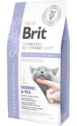 Brit Veterinary Diet Cat Gastrointestinal Grain-Free Herring & Pea