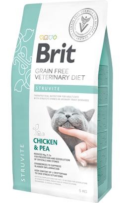 Brit Veterinary Diet Cat Struvite Grain-Free Chicken & Pea