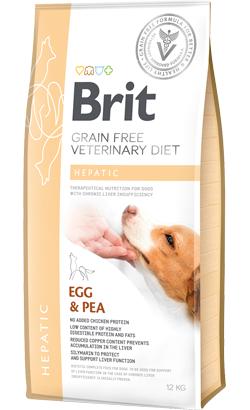 Brit Veterinary Diet Dog Hepatic Grain-Free Egg & Pea