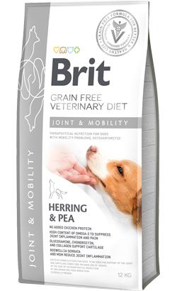 Brit Veterinary Diet Dog Joint & Mobility Grain-Free Herring & Pea