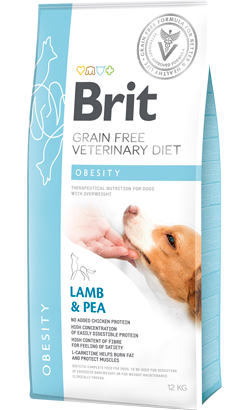 Brit Veterinary Diet Dog Obesity Grain-Free Lamb & Pea