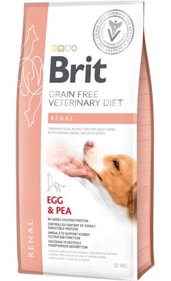 Brit Veterinary Diet Dog Renal Grain-Free Egg & Pea