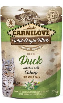 Carnilove Cat Duck with Catnip | Wet (Saqueta)