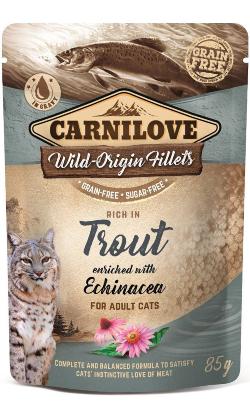 Carnilove Cat Trout with Echinacea   Wet (Saqueta)