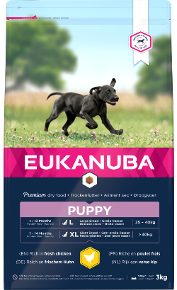 Eukanuba Puppy Large Breed | Chicken