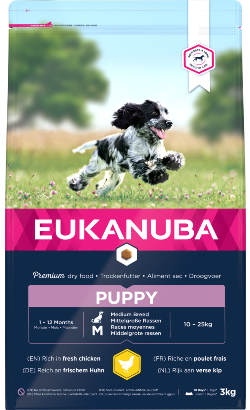 Eukanuba Puppy Medium Breed | Chicken