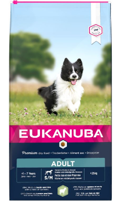 Eukanuba Puppy Small & Medium Breed | Lamb & Rice
