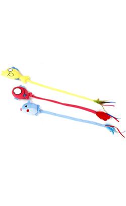 Eurosiam Brinquedo Peixe Longo com Catnip - Sortido