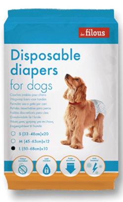Eurosiam Fraldas Descartáveis para Cão