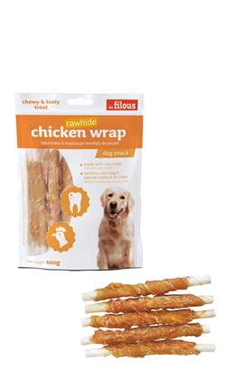 Eurosiam Dog Snack Chicken Wrap Rawhide