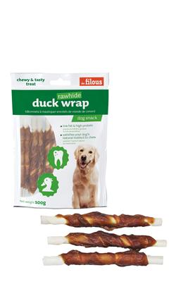 Eurosiam Dog Snack Duck Wrap Rawhide