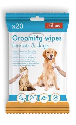 Eurosiam Toalhetes Grooming Wipes para Cães e Gatos
