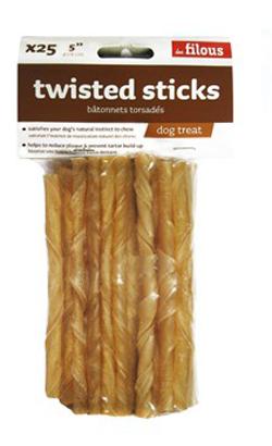 Eurosiam Twisted Sticks (Blister c/ 25 Unidades)