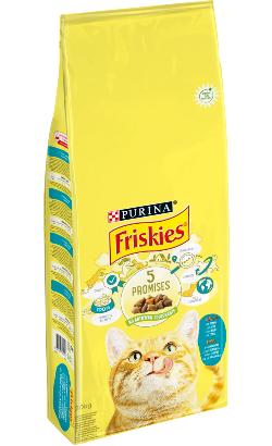 Friskies Gato Adulto | Atum e Legumes