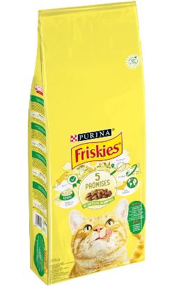 Friskies Gato Adulto | Coelho, Frango e Legumes